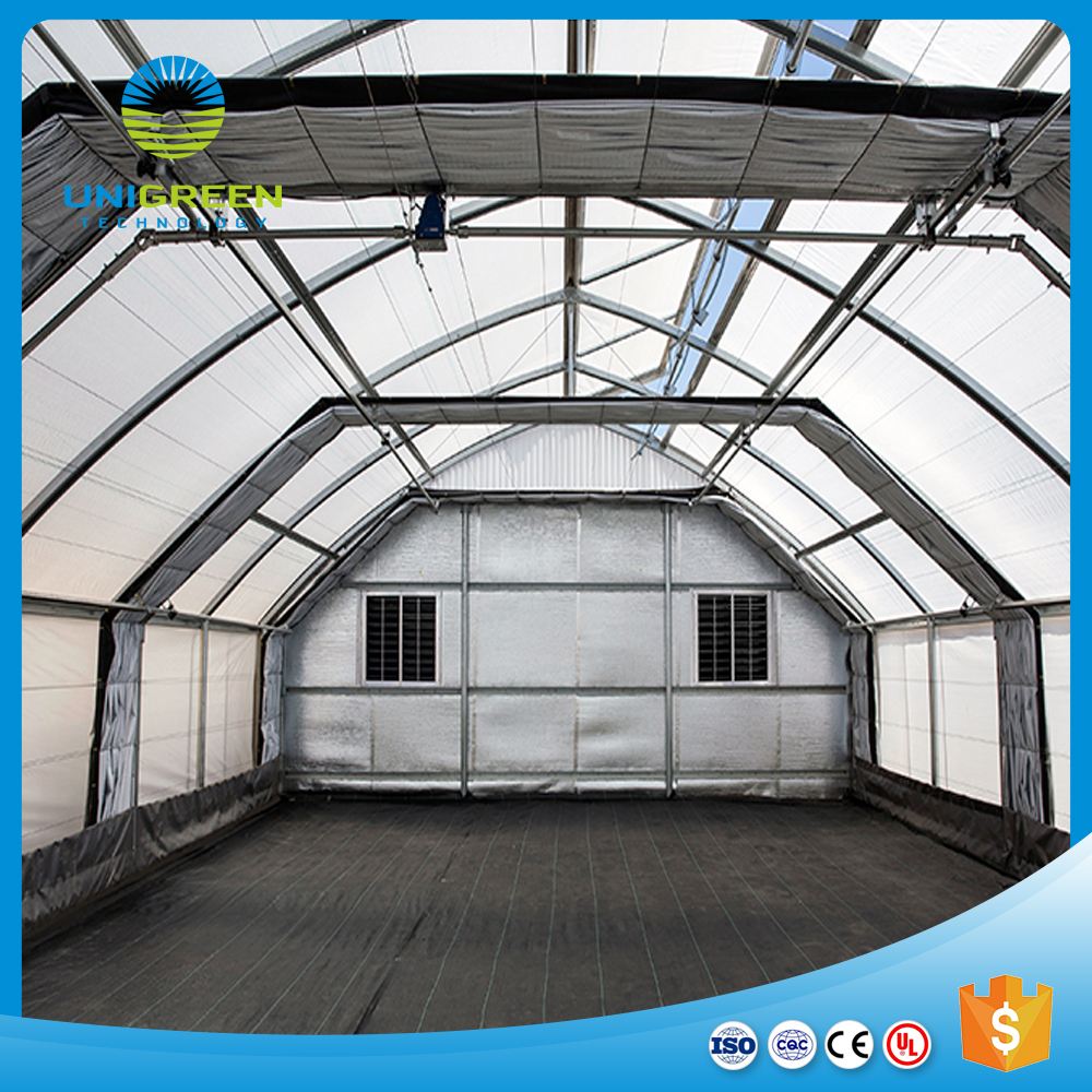 Modern design agricultural multi span greenhouse
