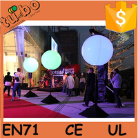 led light inflatable wedding decoration stand balloon