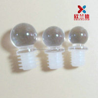ball shape plastic stoppers for bottles