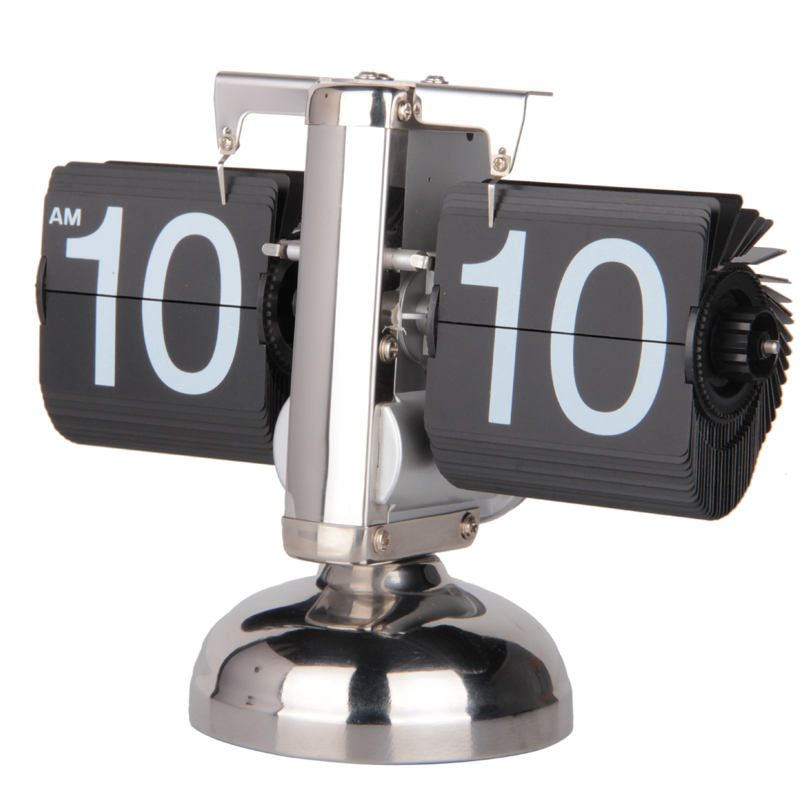 MK-TIME Hot sale retro balance flip desk clock