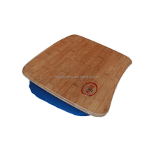 Bamboo Lap With Cushion Bean Bag Tray