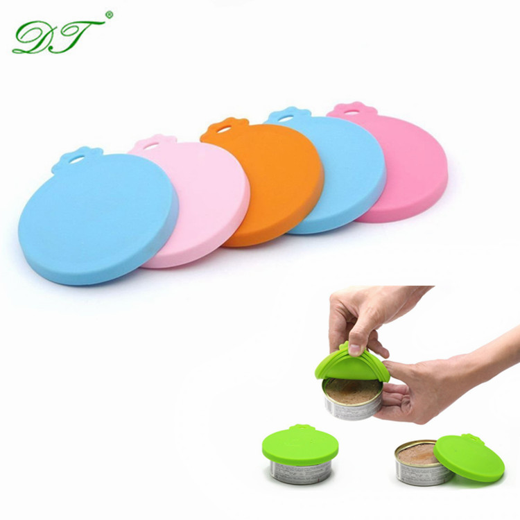 Pet Food Can Cover Silicone Can Lids for Dog and Cat Food