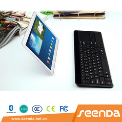 seenda OEM wireless keyboard Arabic keyboard with integrated mouse