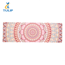 Custom Printing Nontoxic Eco Folding Yoga Mat Private Label