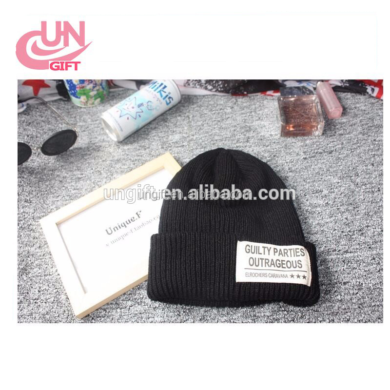 New Autumn Winter Beanies Hat NEW YORK Letter Woolen Winter Hats Fur Cap For Woman Hip Hop Knitted Wool Skullies Caps