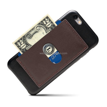 Phone Wallet Smartphone Universal Slim Self-Stick On Card Holder Wallet