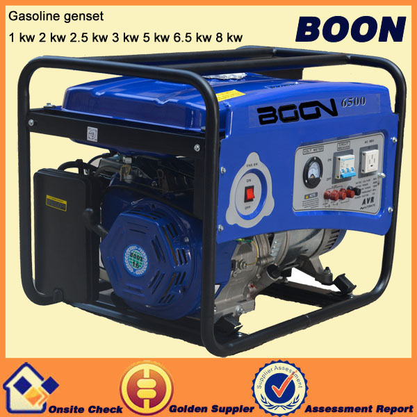 Safe transportation gasoline engine 220v electric ac no fuel generator