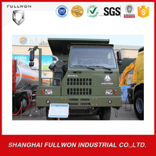 chinese famous brand 10-wheel Howo fuel consumption of 60 ton mining dump truck