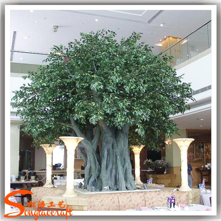 Gros durable arbre artificiel pas cher artificielle arbres for Bonsai artificiel grande taille