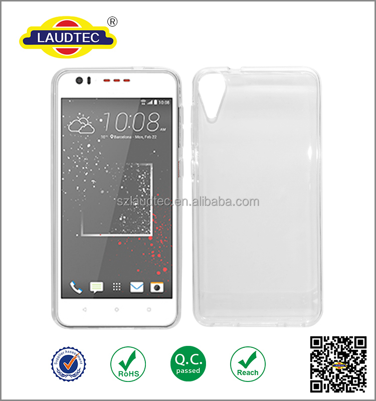 transparent tpu cover case for htc desire 825 ,back cover gel tpu for htc desire 825 case
