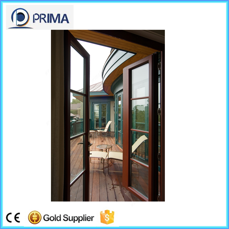 China supply aluminum interior swinging doors