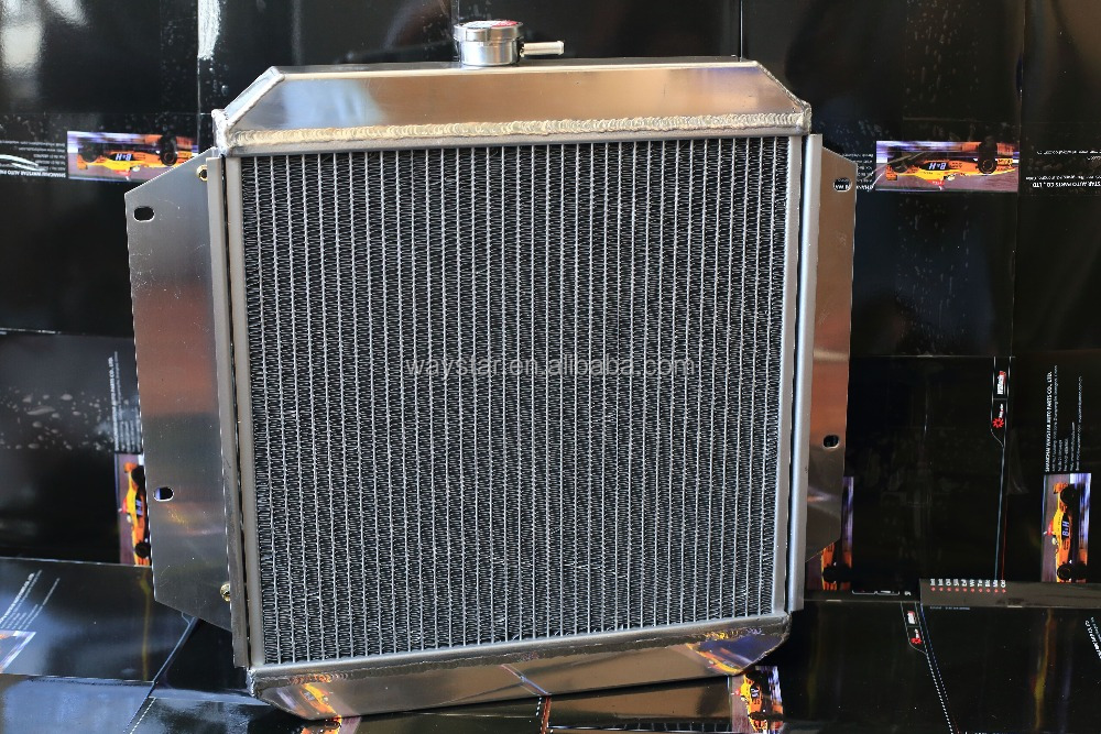 2 core radiator for suzuki samurai aluminum radiator