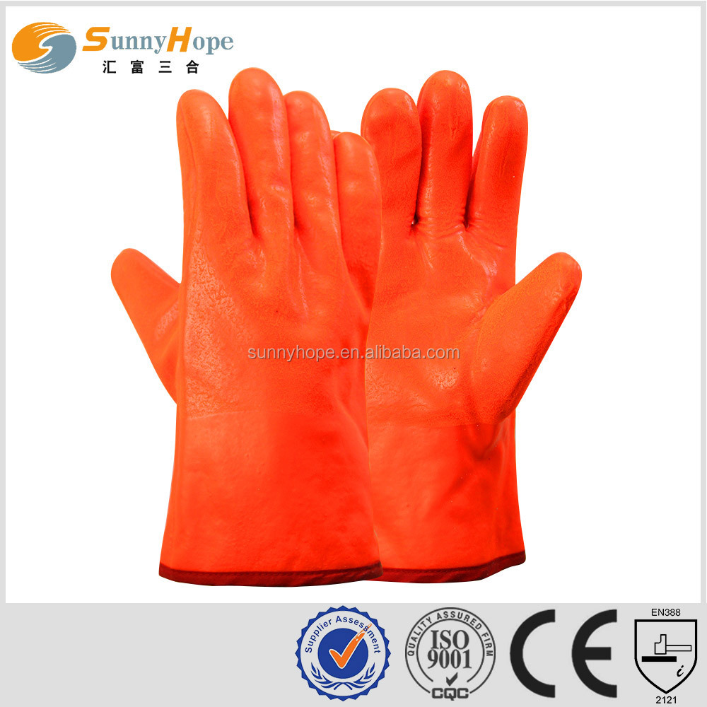 sunnyhope Fluorescent pvc labour protective gloves