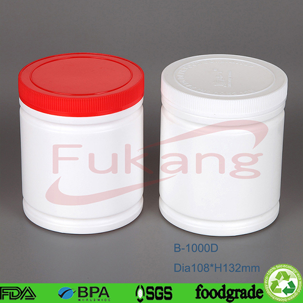 China Professional Factory Plastic Protein Powder Container