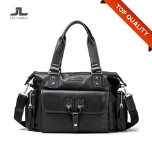Korean Stylish PU Leather Tote Bags for Men/Man Sling Shoulder Tote Bag