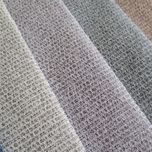 2017 polyester types of sofa material fabric