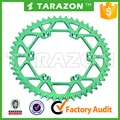 Chinese hot sale 50 T motorcycle rear sprocket for Kawasaki kxf 250 450