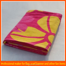 Made-in-China Colorful digital printing brand printing beach towel