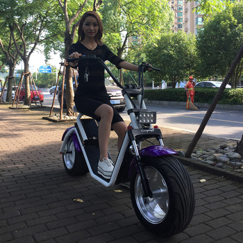 high quality 1000W fast electric scooter with seat for adults