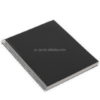 promotional plastic cover spiral a4 size notebook graph paper notebook