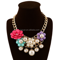 Fashion Gold Long Chain Multilayers Baroque Pearl Necklace