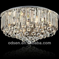 ceiling hanging crystal ball chandelier lamp