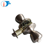 Widely Usage Stainless Steel Bathroom Door Sliding Entry Knob Lock