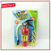 Plastic small fire extinguisher water toy
