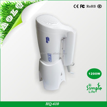 Hanging folded handle hair dryer with pattern