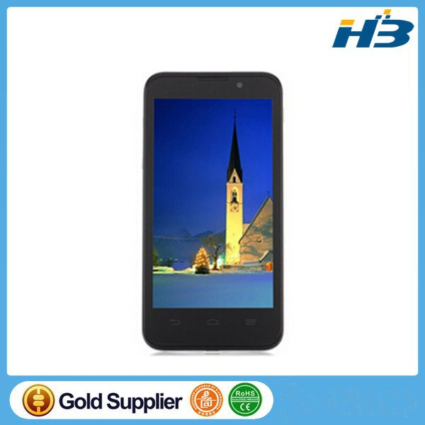 "ZTE V965 MTK6589 1.2GHz Quad Core Android 4.1 OS Monile Phone 512MB RAM 4GB ROM 4.5"" IPS 850*480 5.0MP Camera Russian"