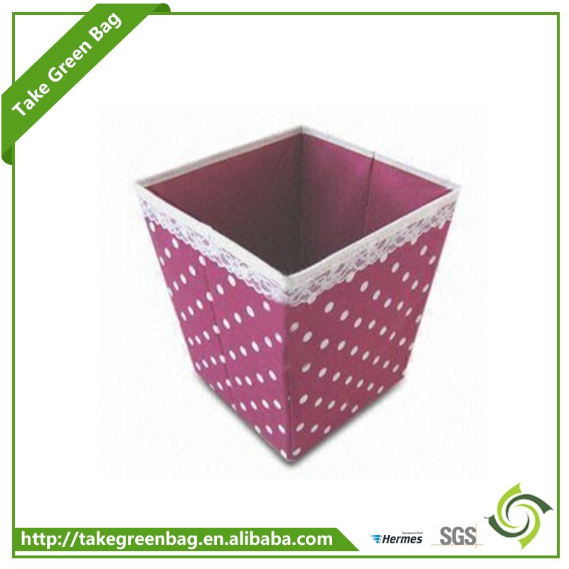 Customized size non woven toy cosmetic storage box