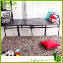 wholesale single metal/Iron folding bed in bedroom