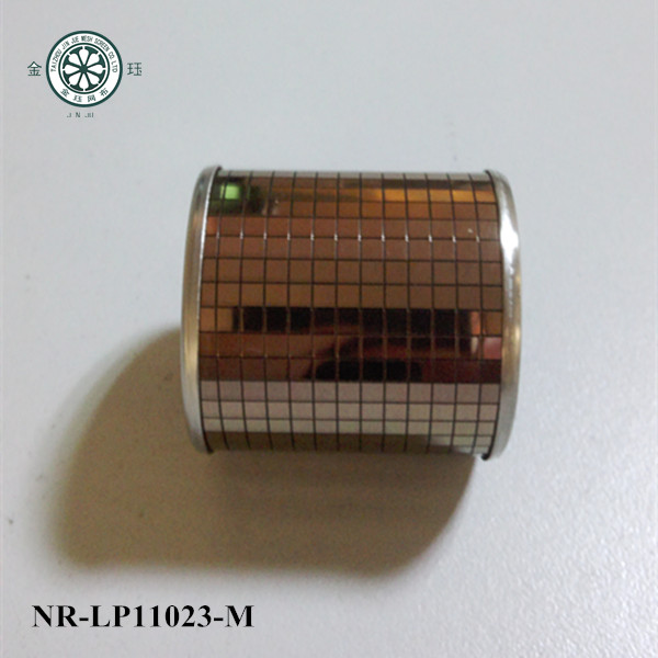 wedding party napkin ring golden metal napkin ring new design table napkin ring