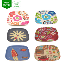 2018 CE/EU food grade American fried rice baby bamboo plates