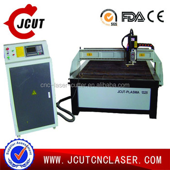 2016 popular JCUT-1325 cnc plasma cutting machine in metal cutting mechinery