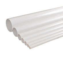 2016 White Color rigid pvc water drainage pipe and pvc sewer pipe fittings