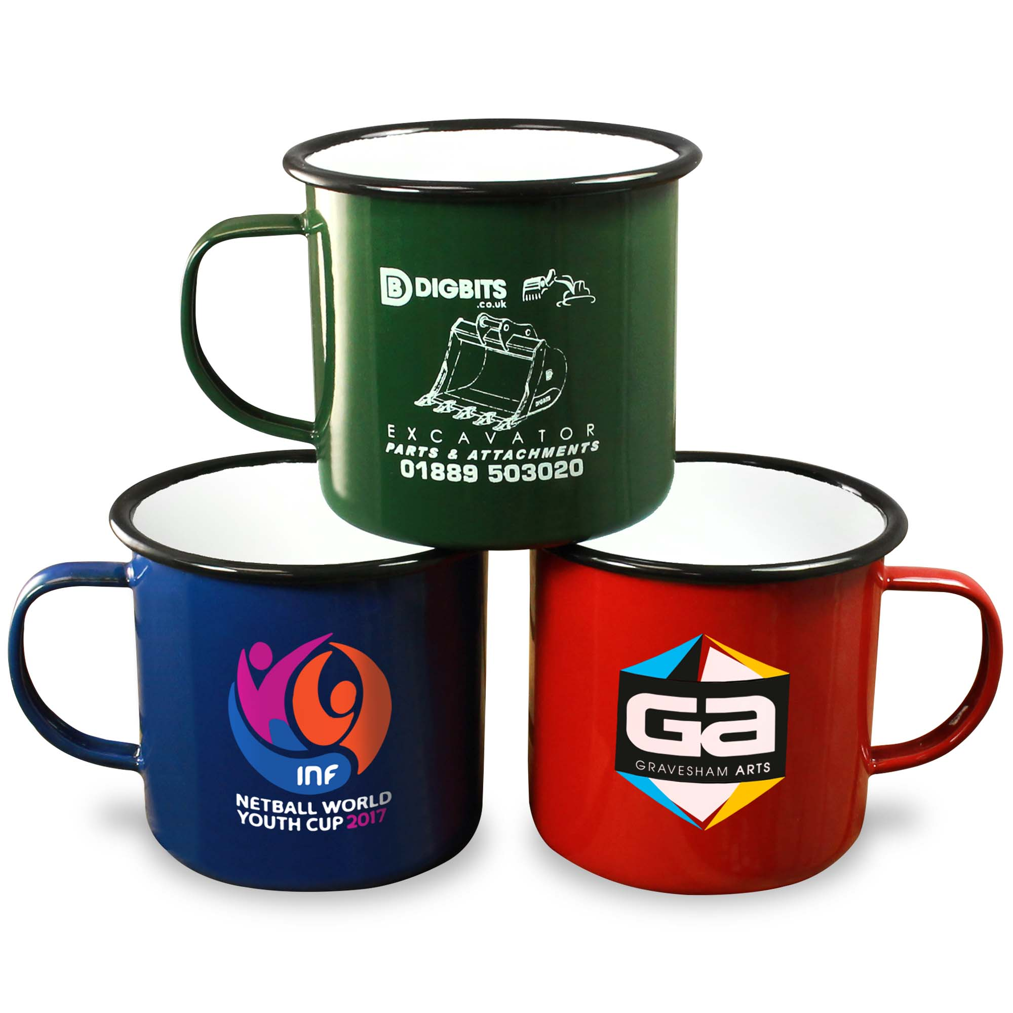 high temp Custom pantone colors Promotional Mugs Custom Logo High Quality Custom Enamel Mugs drinking <strong>cup</strong> Full decal Steel <strong>cup</strong>