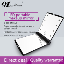 Fashional design Vanity Girl Hollywood Makeup Mirror with LED lights