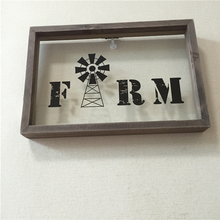 Professional manufacture cheap simple wooden tripe picture frame and interior wall decoration material