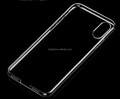 Transparent Soft Clear TPU Case back housing For iPhone 8