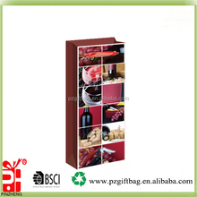 China Supplier customized popular wholesale paper carrying gift make wine paper bag