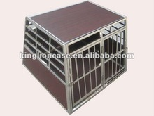 Aluminum dog house, dog transportation case