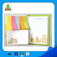2016 promotional memo pad combined sticky notes china supply