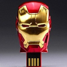 Custom product iron man 64gb usb flash drive from manufactor 8 years of production experience