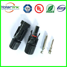 Male and female Gender and Adapter Type TUV and UL Certificate mc4 connector with cable