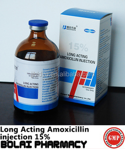 antibiotic injection Long acting amoxicillin suspension