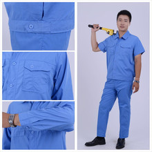 High Quality Work Clothes Scrub Denim Overalls Made In China European Work Clothes Engineers Working Uniform