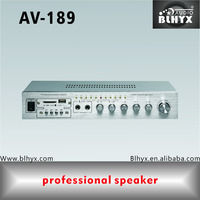 Wholesale New Fashion 2-channel Pro Sound System Power Amplifier With Karaoke BY Carton Box & Air Box AV-189