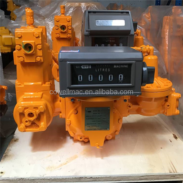 Cowell LPG gas flow meter ( LPG gas plan / LPG gas skid station flow meter )