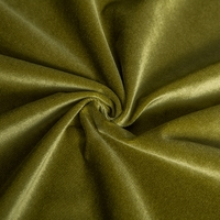 High quality one side brushed warp knit 100 polyester velvet fabric price per meter